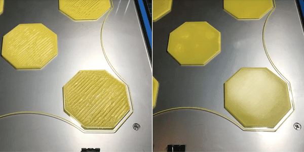 نچسبیدن لایه اول پرینتر سه بعدی