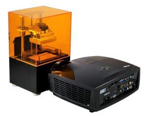 پرینتر سه بعدی DLP