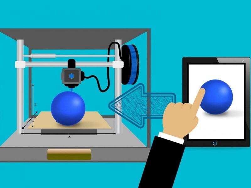 پرینتر سه بعدی تکنولوژی FDM