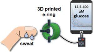 کنترل قند خون با پرینتر سه بعدی