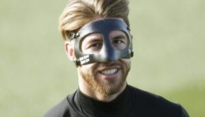 پرینت ماسک سه بعدی Sergio-Ramos