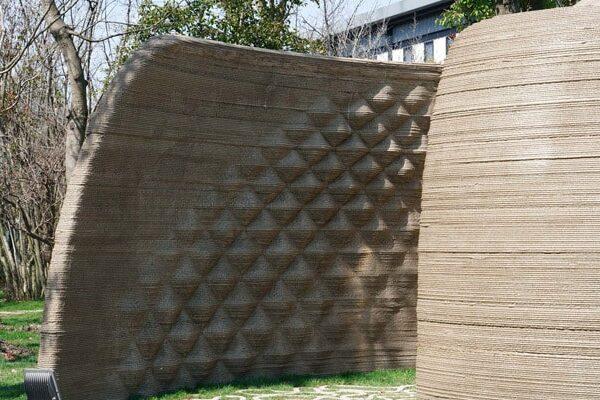 طرح برجسته ورودی با پرینتر سه بعدی