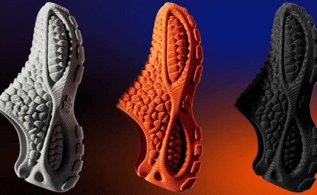 کفش پرینتر سه بعدی
